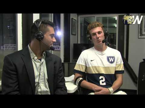 2015 Wingate Men's Soccer - Interview - Alex Nelson Post Barton