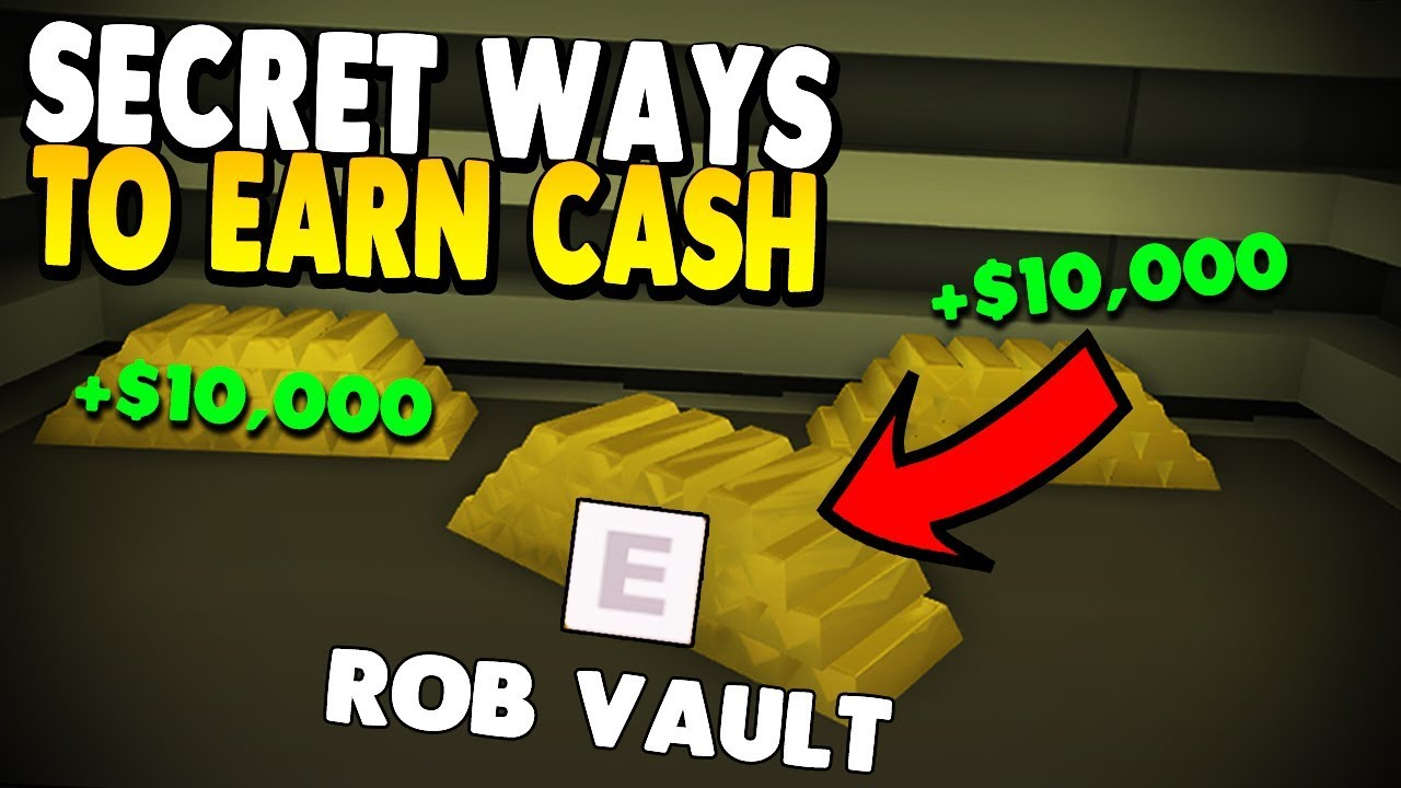 All Secret Ways To Get Money In Mad City Tutorial Roblox Youtube
