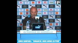 """Jorge Sampaoli : """"Dimanche, nous avons eu peur """""""
