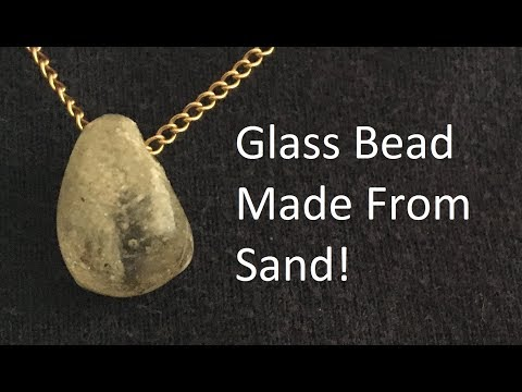 Making Glass From Sand Using A Microwave (and some other stuff)