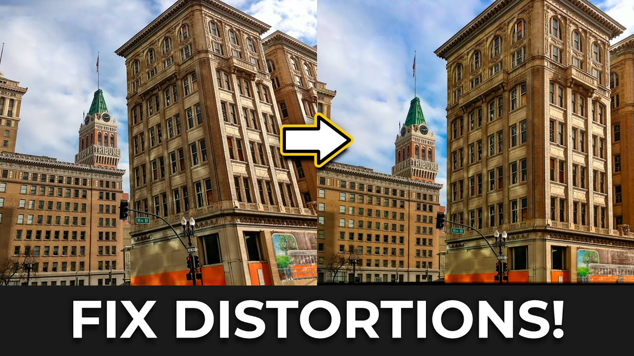 "Fix ""Perspective Distortions"" with One Surprising Ps Filter!"