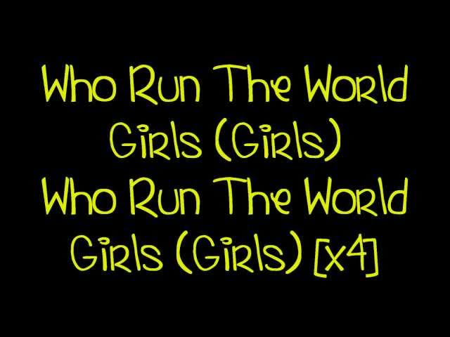 Run The World Girls MP3 Download 320kbps