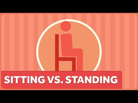Sitting vs. Standing. Is Your Sedentary Life Killing You?