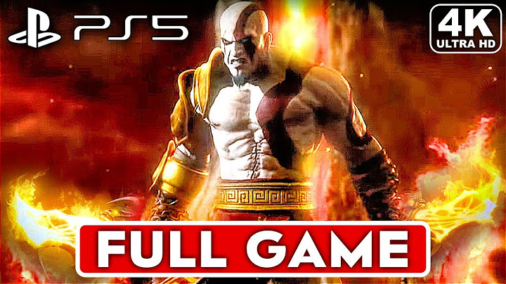 god of war 1 remastered ps5 gameplay walkthrough part 1 full game 4k 60fps  no commentary