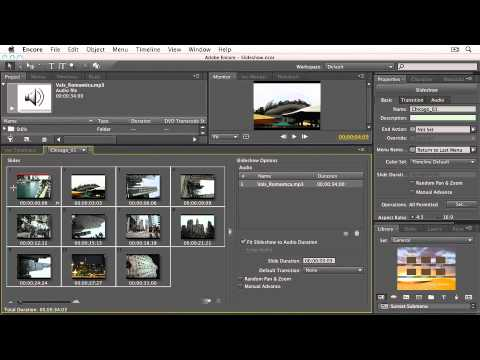 how to create a slideshow in indesign cs5