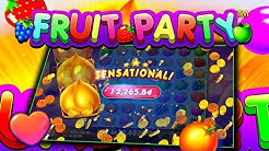 FRUIT PARTY (PRAGMATIC PLAY) ONLINE SLOT