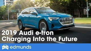 The electric car that redefines fast charging: the 2019 Audi e-tron EV