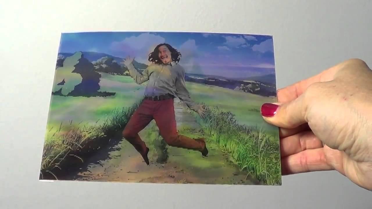 Lenticular printing 3d and flip postcards youtube lenticular printing 3d and flip postcards colourmoves