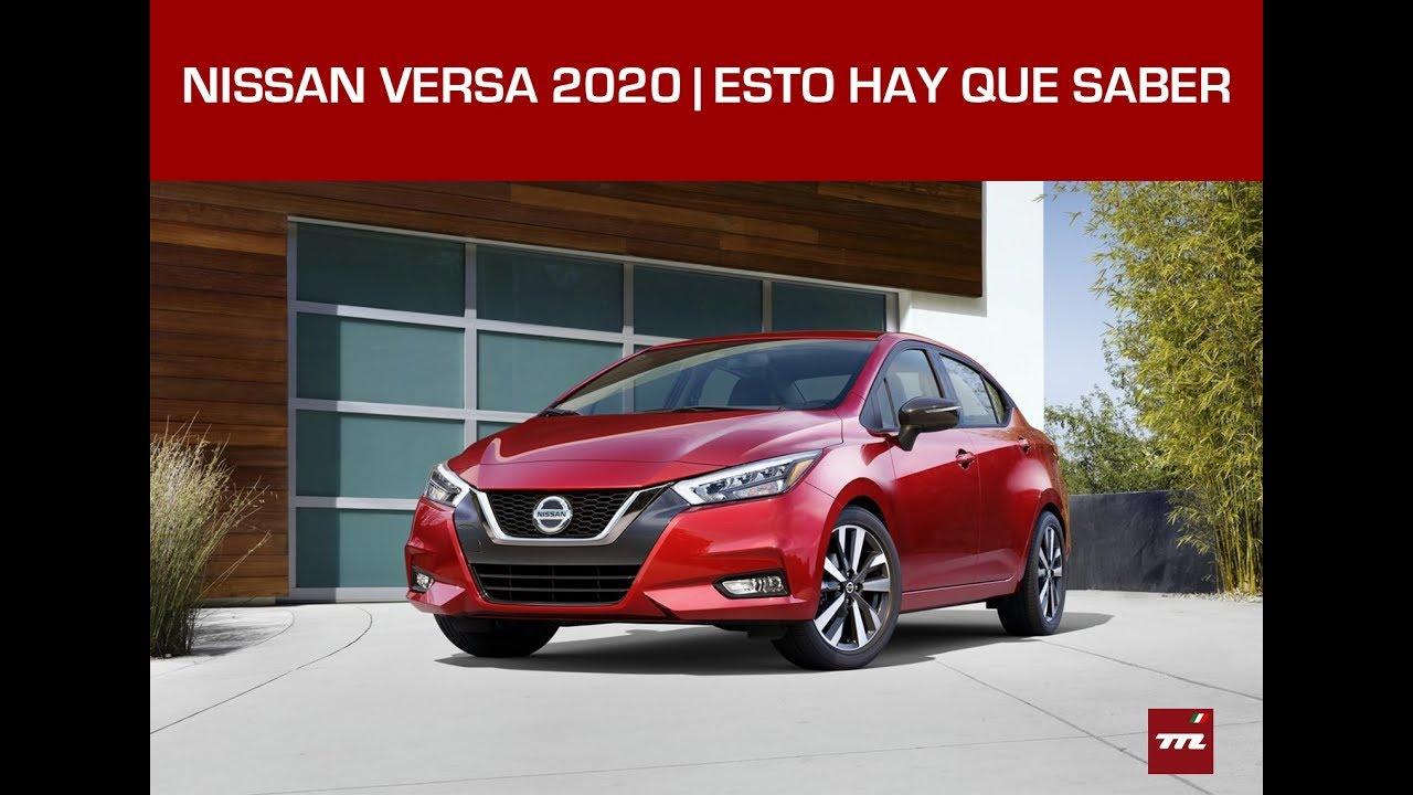 Nissan Versa 2020 | Por fin un Versa que podría gustarte ...