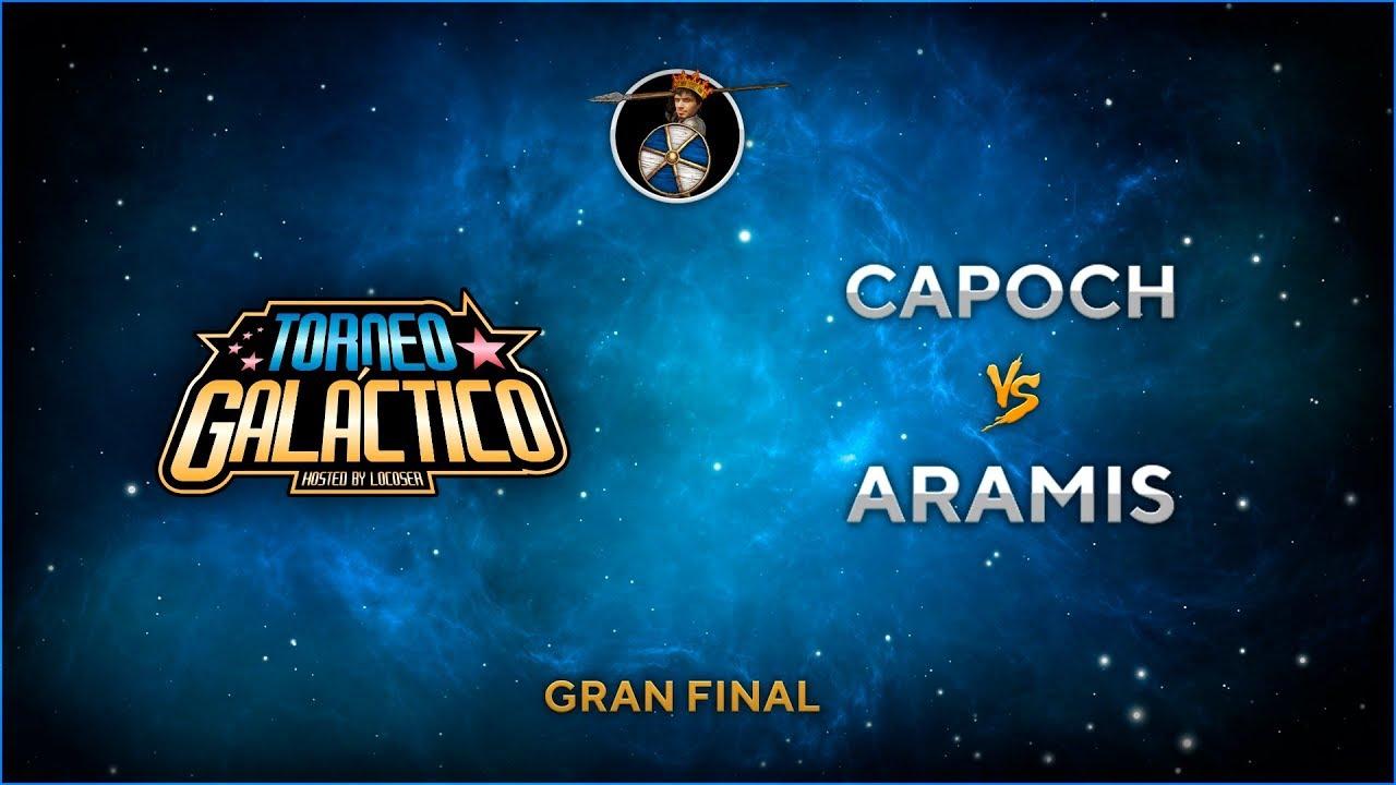 #TorneoGaláctico- TERCER PUESTO Y GRAN FINAL: ARAMIS vs CAPOCH !!!!
