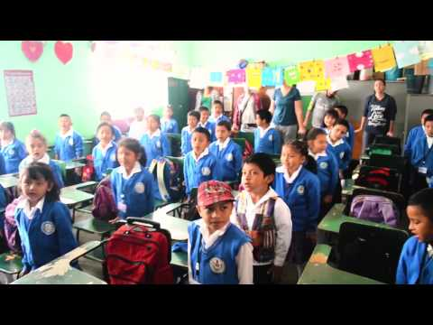 Have You Ever Seen A Penguin Come To Tea? A Silly Song With Kids In Guatemala