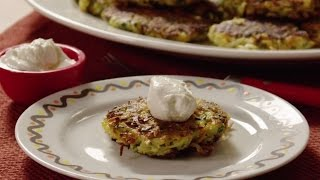 Hanukkah Recipes - How to Make Vegetable and Feta Latkes