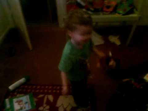 Riley dancing Ain't No Road Too Long again