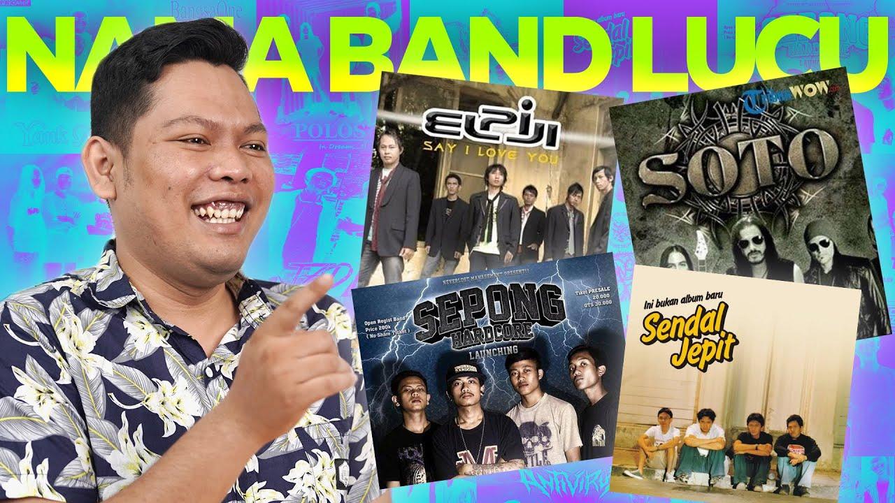 NAMA2 BAND LUCU YANG PERNAH ADA!!