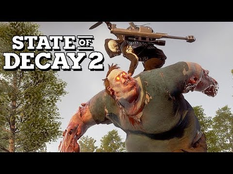 State of Decay 2 Gameplay German - Das macht der Zombieriese