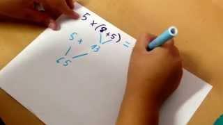 Propiedad distributiva de la multiplicación respecto de la suma (1)