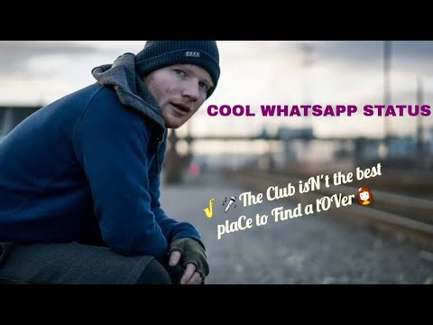 Hollywood Song Whatsapp Status 30 Second English Song Shape Of you