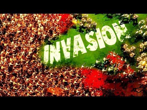 MASSIVE INVASION vs Fortress City NEW Kingdom Builder vs Zombies (They Are Billions Gameplay part 1)