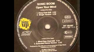Sonic Boom - Open Your Mind (Mind Flow Club Edit)