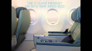 Saudi Arabian Airlines A320-200 Riyadh to Frankfurt