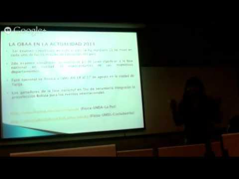 Workshop Astronomía Andes - Julio 3 - Review Educación en Bolivia (Raljevik / Guzman)