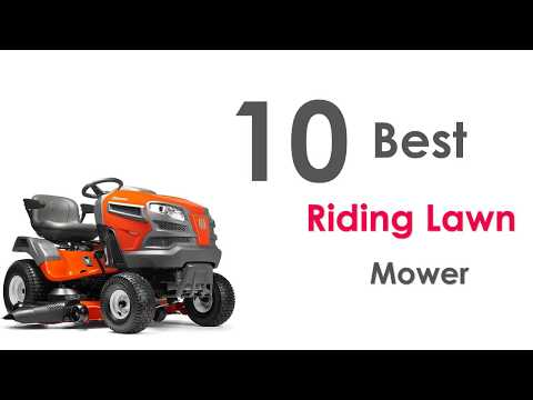 10 Best Riding Lawn Mower Review 2018