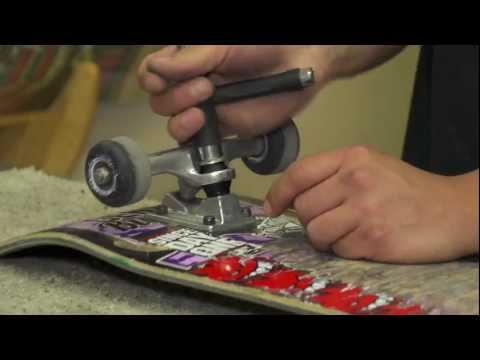 How To Replace Your Skateboard Bushings (with Griff)