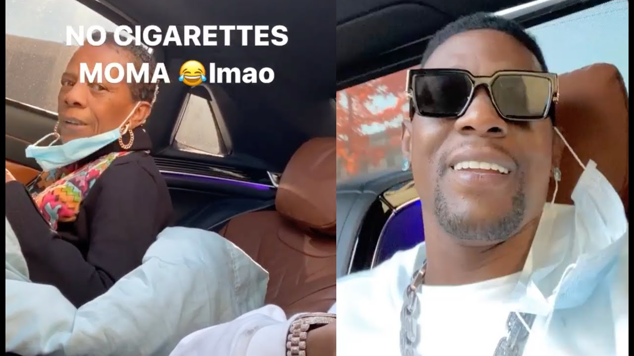 Boosie's Mom Reminds Him If It Wasn't For Her, He Wouldn't Be Here [VIDEO]