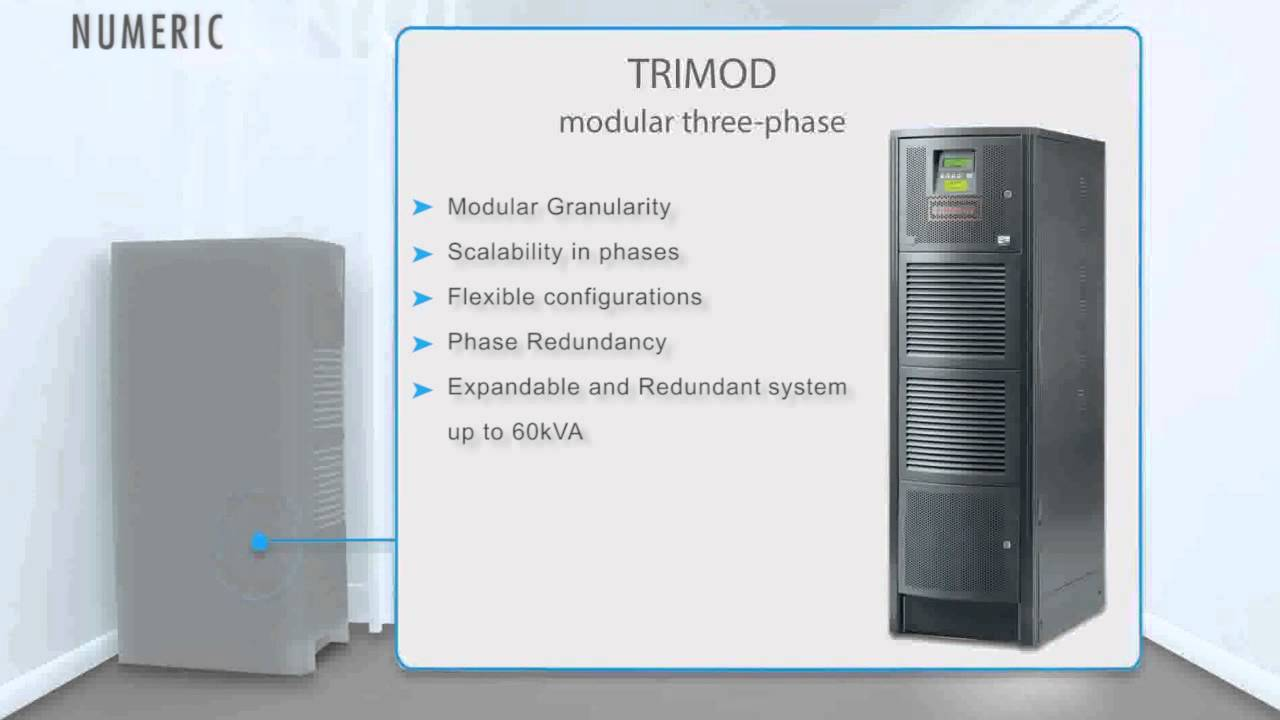 Numeric 3 Phase UPS by Legrand