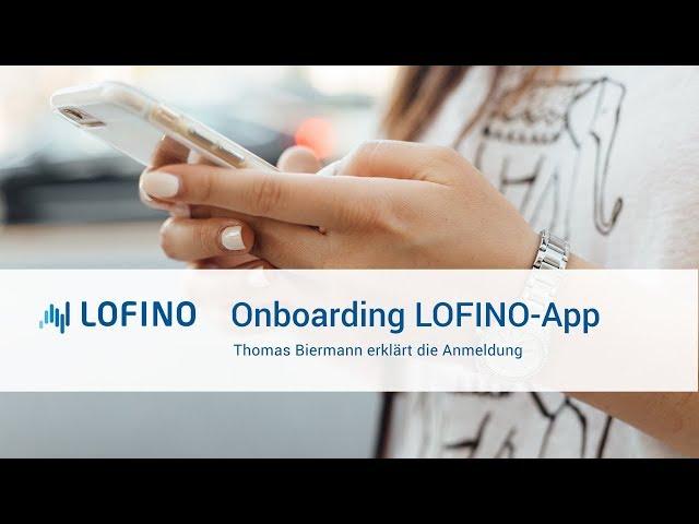 Onboarding LOFINO App