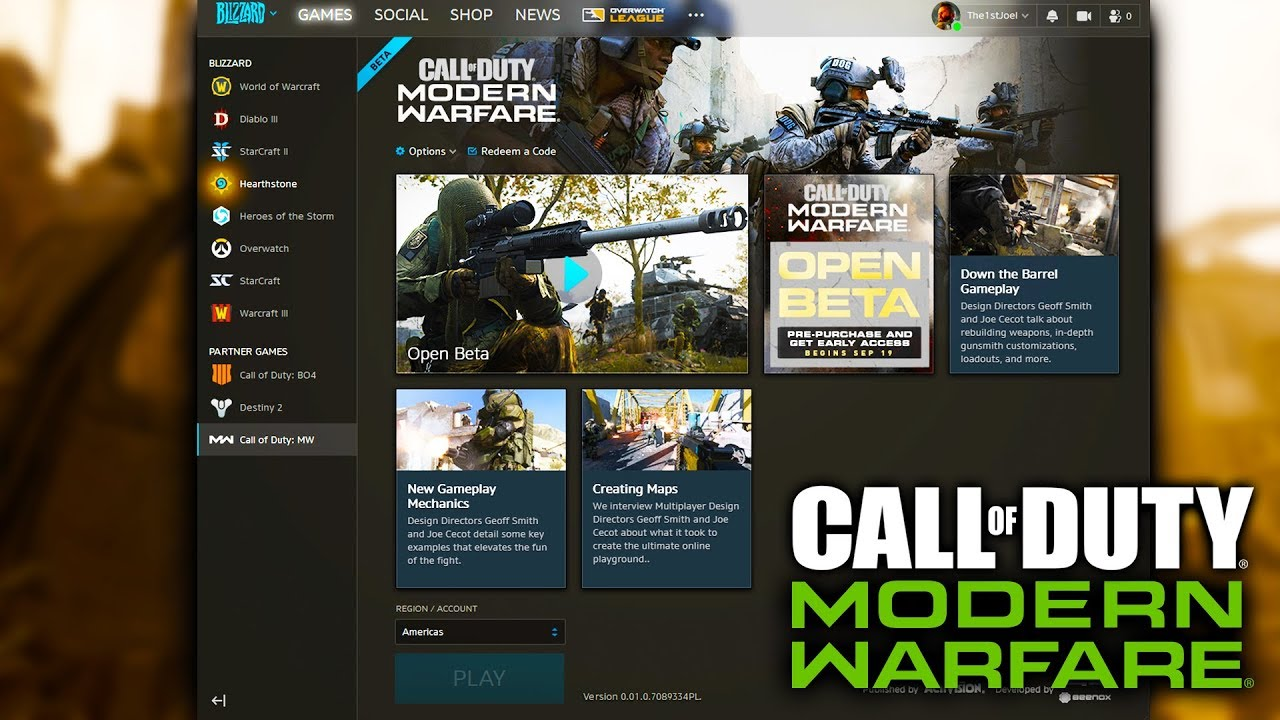 How To Download MODERN WARFARE BETA on PC -