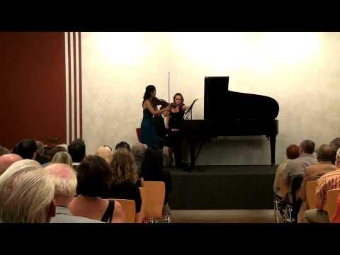 Germany Premiere Richard Cionco's Etude Fantasy on C-H-A-S-E, Janet Sung Violin