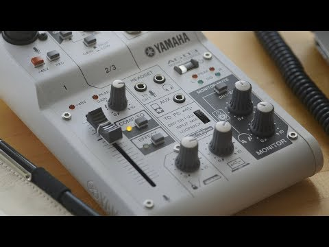 AG Series Overview: Yamaha Mixing Consoles