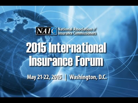 2015 NAIC IIF: Global Insurance Standards -- From Vision to