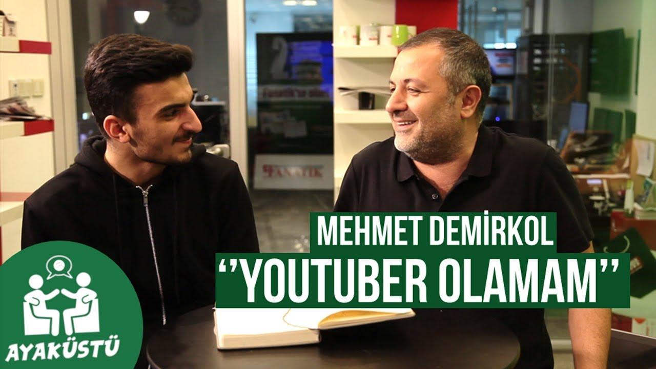 MEHMET DEMİRKOL İLE AYAKÜSTÜ:  Ciddiyetten Uzak, Youtube, Türk Futbolu, Milli Takım ve Tavsiyeler #1