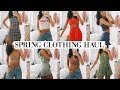 SPRING CLOTHING HAUL | TRY ON | Fashion Nova