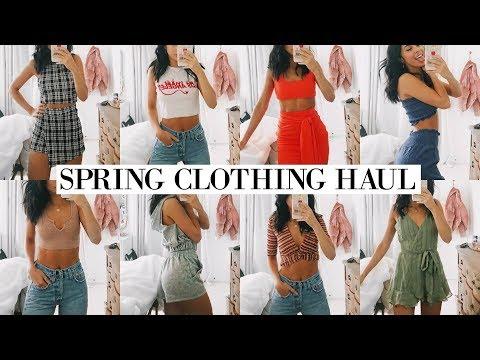 SPRING CLOTHING HAUL | TRY ON | Fashion Nova