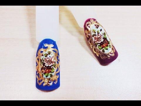 Дизайн Ногтей✦Декупаж✦Ksana Groza. Nail Art Blog