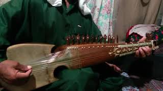 Classical music on rubab cover by an old man