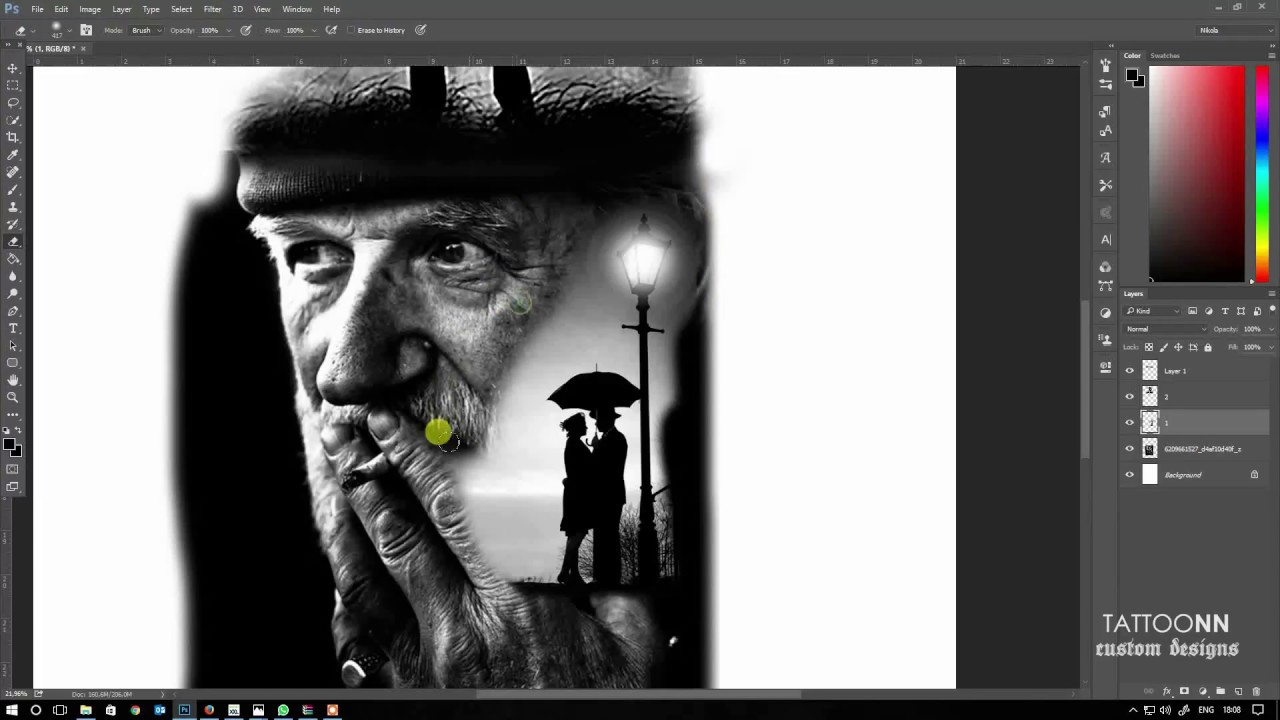 How To Use Photoshop For Tattoo Design Tattoonn