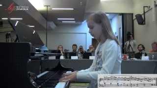 Henri Bertini: Etida u c - molu op. 29, br. 4 - Lorena Cahunek, klavir / Bistrički ZVUKOLIK 2014.