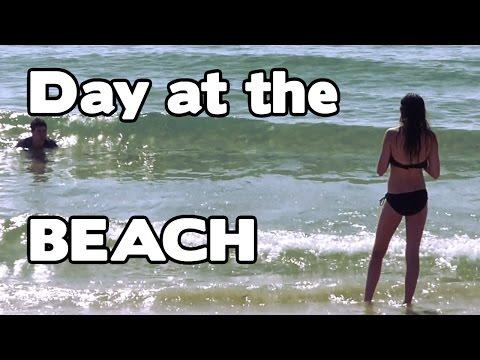 Our day at the beach - Dania Beach Florida