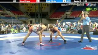 Cadet 182 - Drew Phipps (Pennsylvania) vs. Cash Wilcke (Iowa)