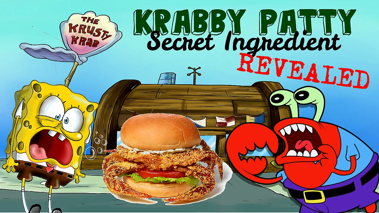 spongebob theory what are krabby patties made of youtube