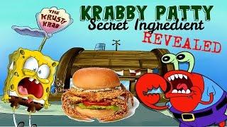 SpongeBob Theory: What are KRABBY PATTIES made of?!