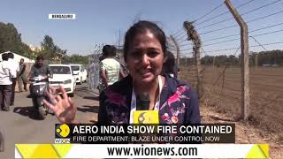 Nearly 300 vehicles gutted in fire at Yelahanka Air Base in Bengaluru