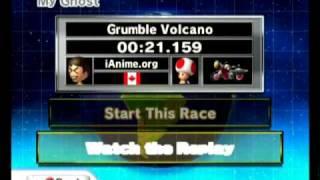 Mario Kart Wii: Grumble Volcano World Records by DDM & Alex