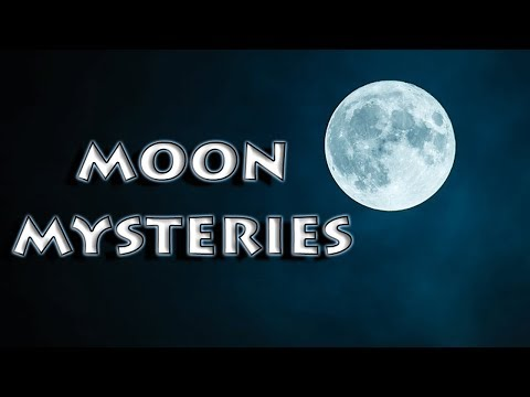 Alien Moon Bases: Mysteries of the Moon