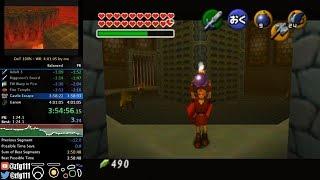 Ocarina of Time 100% Speedrun in 3:58:45