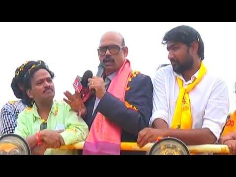 Download Youtube: నంద్యాల ఎన్నికల ప్రచారంలో వేణుమాధవ్ Venu Madhav, TG Venkatesh in Nandyala Elections Campaign